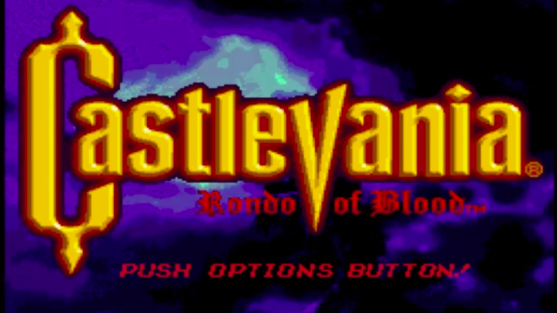 Rondo of Blood, Logo